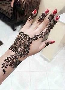 Ring Bracelet Mehndi Design