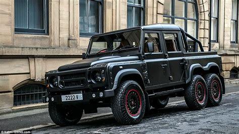 Land Rover Defender challenged Kahn Designs' 6-wheel ...