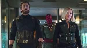 Infinity War Chris Evans And Scarlett Johansson On