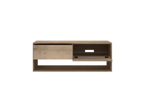 Ethnicraft Low Storage Unit  Nordic  Natural Bed Company