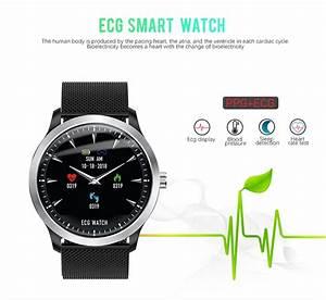 Amazing Ecg Sports Watch N58 1 22 U0026quot  Ips Fitness Tracker Blood Pressure Heart Rate Watch Good