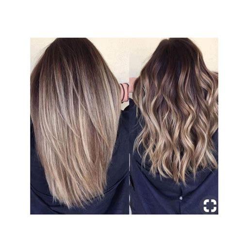 balayage braun grau welche haarfarbe als n 228 chstes ausprobieren haare farbe