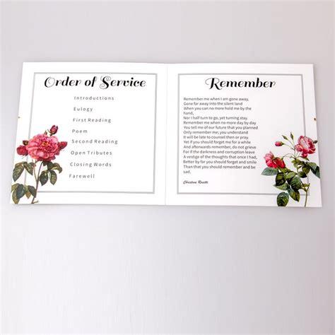 funeral service sheet template 26 best bespoke funeral service sheets images on program template syllabus template