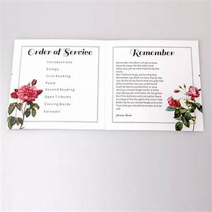 26 best bespoke funeral service sheets images on pinterest With funeral service sheet template