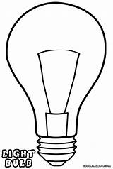 Light Lightbulb Bulb Coloring Template Pages Drawing Bulbs Print Clipart Clip Getdrawings Sketch Templates Clipartmag Stuff Colorings sketch template