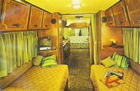 Groovy Interiors 1965 And 1974 Home Décor: Campers Of Shag: A Look Inside Groovy Recreational