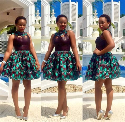 LULU MICHAEL, TANZANIA STAR ,KITENGE WEAR   The Click Styles