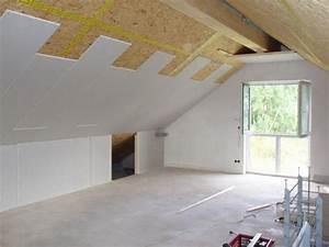 Trockenbau Dachschräge Anleitung : hochwertige baustoffe innenausbau gipskartonplatten anleitung ~ Watch28wear.com Haus und Dekorationen
