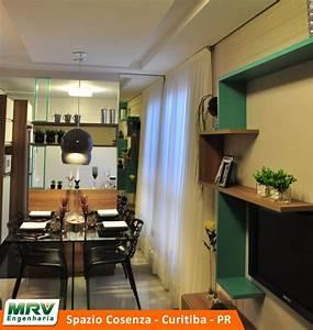 Decoração de Apartamento Pequeno Planejado 45m ² + Fotos
