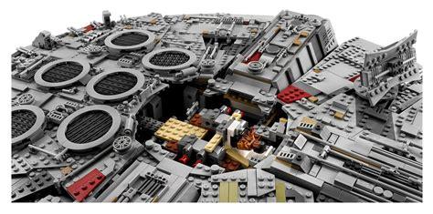 millennium falcon  legos biggest set  slashgear