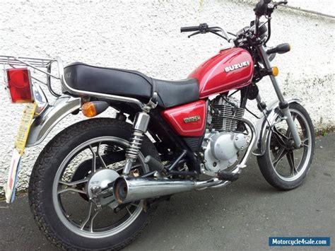 Suzuki Gn 125 For Sale by Suzuki Gn125 Custom Motorcycle 11 Reg For Sale In United