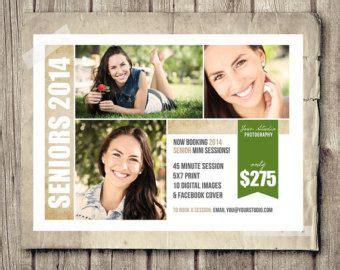 senior photography marketing templates template