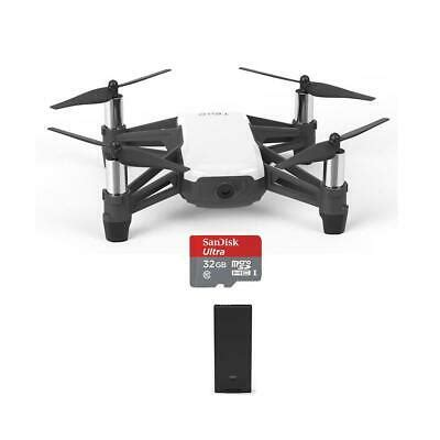 ryzedji tello intelligent drone mp p hd camera  spare batterygb card  ebay