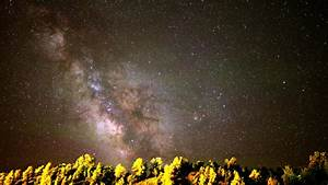 4K Astrophotography Time Lapse Footage Of Milky Way Galaxy ...