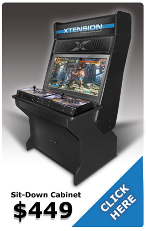 Xtension Arcade Cabinet by Xtension Arcade Cabinet