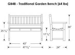 woodwork garden bench dimensions pdf plans
