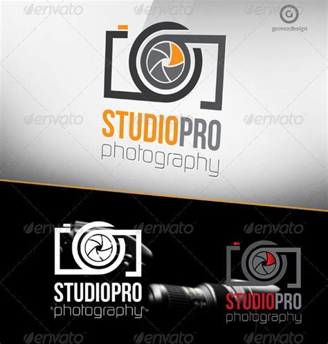 psd ai photography logo templates bashooka