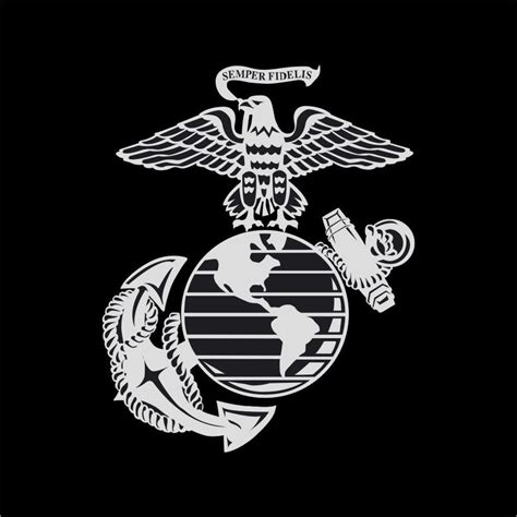 us marines insignia vinyl decal sticker window wall car ebay