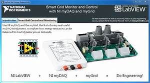 Studying The Operation Of A Smart Grid With The Mygrid