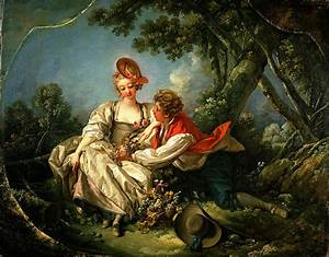 The Four Seasons Autumn Painting by Francois Boucher