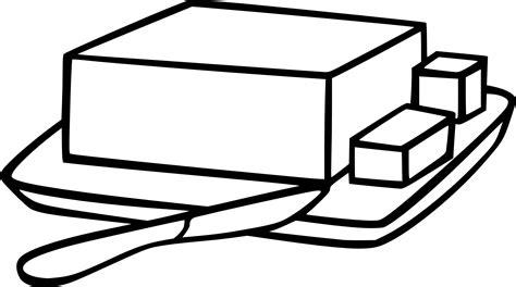 cuisine dessin animé coloriage beurre et dessin à imprimer