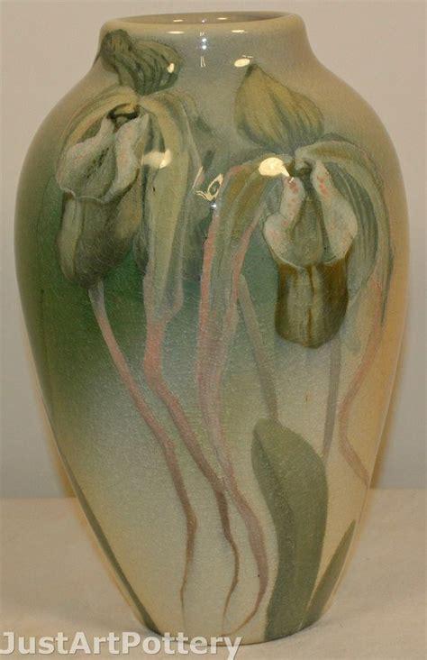Rookwood Pottery 1901 Iris Glaze Iris Vase Shape 900