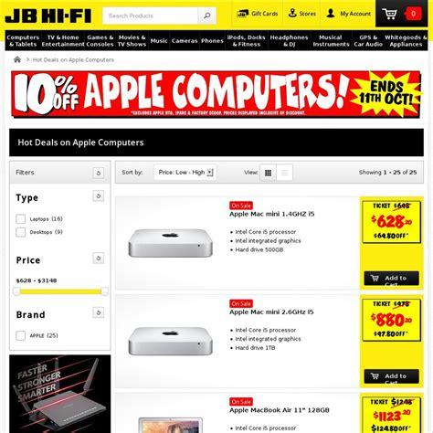 apple computers jb fi ozbargain
