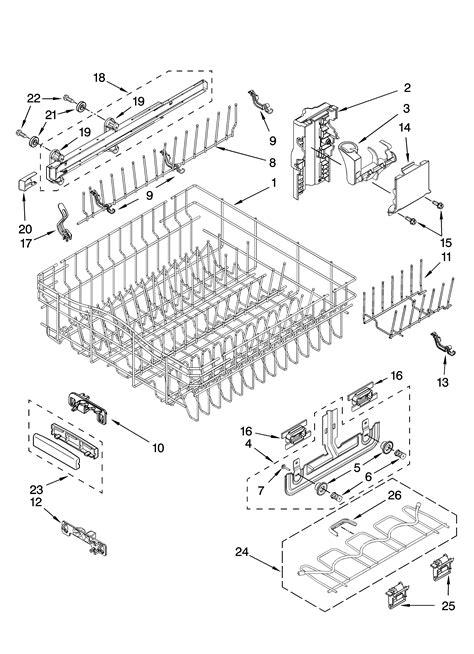 Kitchenaid Dishwasher Parts by Kitchenaid Dishwasher Replacement Parts Evaluate Hardware