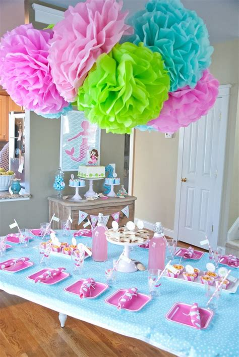 table decorating ideas amusing birthday party table decoration ideas with