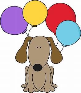 Dog Birthday Clipart - ClipartXtras