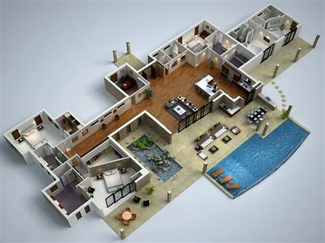 contemporary house designs and floor plans modern house floor plans modern 3d floor plans modern