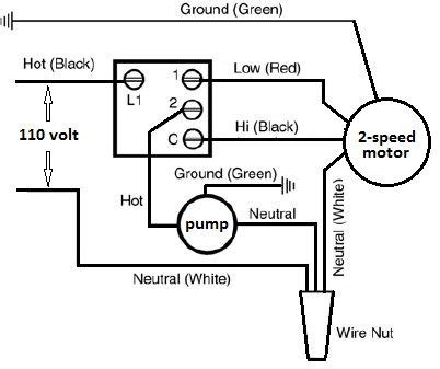 basic evaporator switch wiring schematic hvac