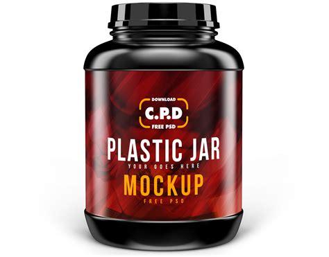 Moisturizer bath product plastic packaging. Plastic Jar Mockup Free Psd