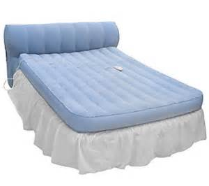 aerobed queen rasied bed with headboard and dust ruffle