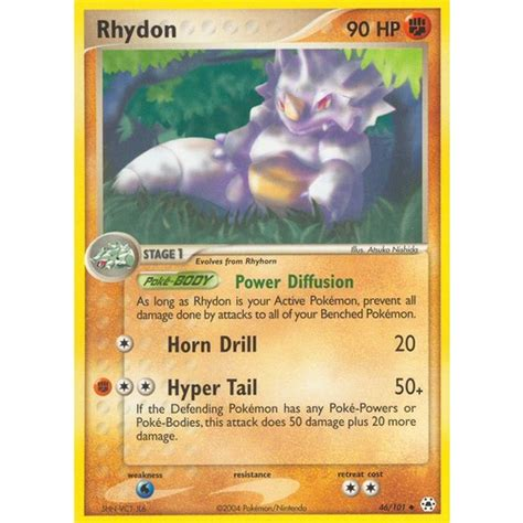 The tcgplayer price guide tool shows you the value of a card based on the most reliable pricing information available. Rhydon 46/101 EX Hidden Legends Uncommon Pokemon Card NEAR MINT TCG
