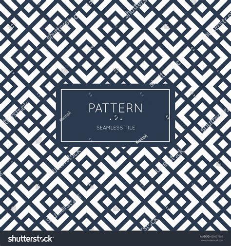 geometric seamless pattern vector illustration fashion stock vector 609557585