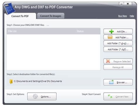 Convert files into the dwg format, a popular cad file format, with this free online converter. Any DWG and DXF to PDF Converter 2012 v4.3.2 Shareware ...