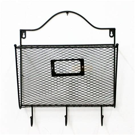 wall mount letter organizer wall mount mail organizer letter office key holder rack 6945