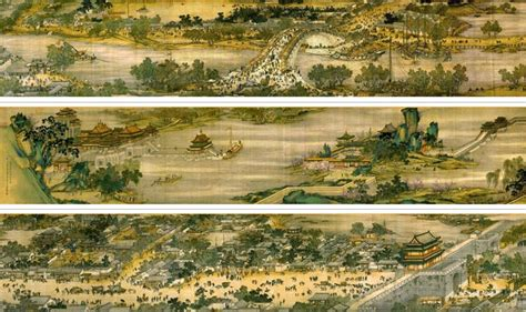 5meter Long Ancient Scroll Painting Is One Of The Most