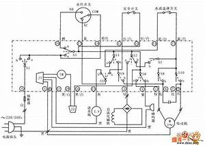 The Xiaoshentong Xqb20-a Washing Machine Circuit Principle Diagram - Basic Circuit