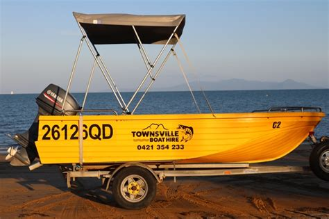 Boat Canopy Townsville by Our Hire Boats Townsville Boat Hire