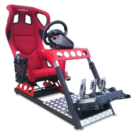Gamepod Gt2 Evo Black Gaming Race Seat  Gsm Sport Seats