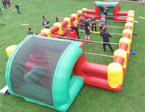 Human Foosball Rental - Giant Inflatable Party Rentals ...