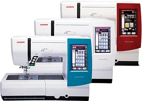 Janome Memory Craft 9900 Combination Quilting Embroidery