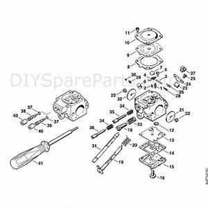 Stihl Br 400 Backpack Blower  Br 400  Parts Diagram  D