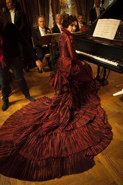 lady lucilles red dress crimson peak  theaters