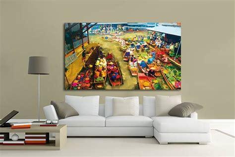 papier peint trompe l oeil pour chambre tableau design décoration murale tendance et tableaux