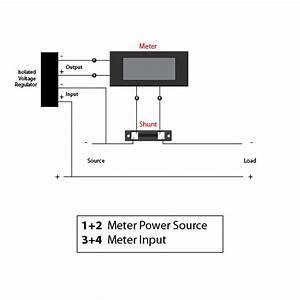 Digital Panel Ammeter Wiring Diagram