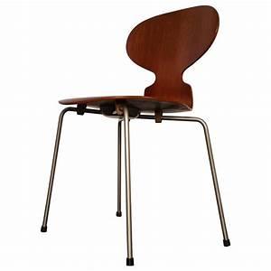 Arne Jacobsen Ant Chair : model 3100 39 ant 39 chair by arne jacobsen for fritz hansen 1952 at 1stdibs ~ Markanthonyermac.com Haus und Dekorationen