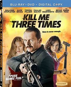 Kill Me Three Times DVD Release Date July 7, 2015
